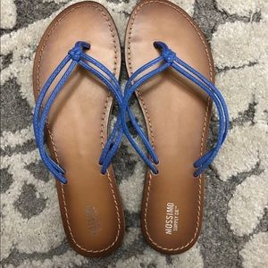 Mossimo flip flops size 10